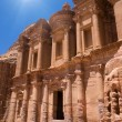 Ancient temple in Petra — Stock Photo #74798583