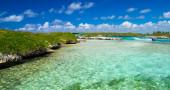 Cielo e mare caraibico — Foto Stock