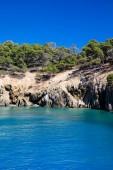 Vacker strand och havet — Stockfoto