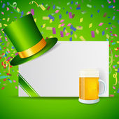 St. Patrick's Day icons — Stock Vector
