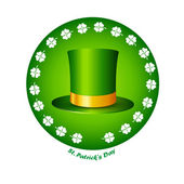 St. Patrick's Day icon — Stock Vector