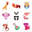 Animal Icon set — Stock Vector #72131203