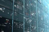Computer code program digital background — Stock Photo