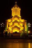 Holy Trinity Cathedral Of Tbilisi Sameba — Stock Photo