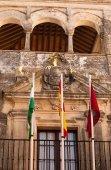 Arcos de la Frontera bílé město ve Španělsku — Stock fotografie