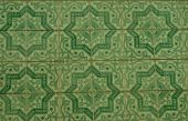 Detail of traditional tiles from facades  — 图库照片