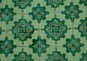 Dettaglio delle mattonelle tradizionali da facciate — Foto Stock