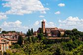 Basilica of Santa Maria dei Servi (siena toscana italy)  — Stock Photo