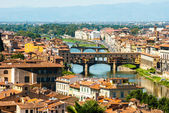 Bridge Ponte Vecchio in Florence, Italy — Stock Photo