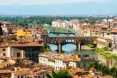 佛罗伦萨,意大利的庞特韦奇奥桥 — 图库照片