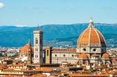 Itálie. florencie. katedrála santa maria del fiore — Stock fotografie