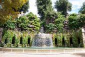 Villa d'Este in Tivoli, near Rome, Italy — Stock Photo