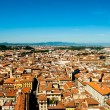 Florence, Italy. Cityscape with tiled roofs and Palazzo Vecchio in the distance — Stock Photo #57578203