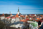 Tallinn, Estonia old city view. — Stock Photo