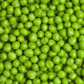 Sweet green peas background — Stock Photo