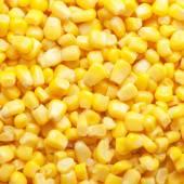 Tinned corn background — Stock Photo