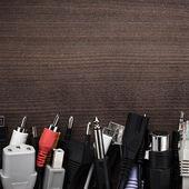 Câbles différents sur la table — Photo