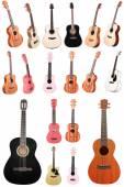 Acoustic guitars — Stock Photo