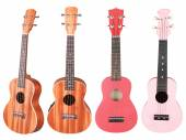 Hawaiian guitars — Stock Photo