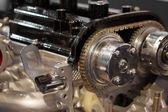 De afbeelding van een motor — Stockfoto