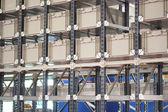 Shelves in warehouse — Stock Photo