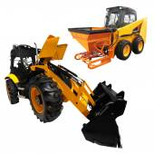 Small wheeled tractors — Stock Photo