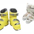 Downhill boots — Stock Photo #55197659