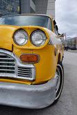Taxi auto — Stockfoto