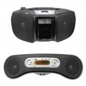 Radio cassette recorder — Stock Photo