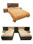 Bedrooms — Stock Photo