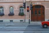 Traffic light for pedestrians — Stock Photo