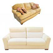 沙发 — 图库照片