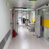 医院的走廊 — 图库照片