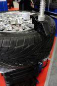 Macchina di riparazione auto disco — Foto Stock