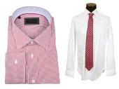 Shirts with tie — Stockfoto