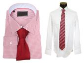 Shirts with tie — Stock Photo