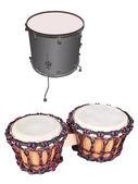 Tambores africanos — Foto de Stock