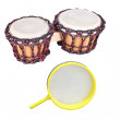 African drums — Stock Photo #58797155