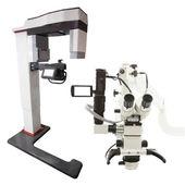 Labor-Mikroskop — Stockfoto