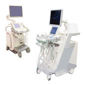 Ultrasound apparatuses — Stock Photo
