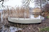 Para wiosło łodzi — Zdjęcie stockowe