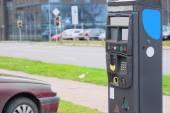Parking machine — Stock Photo