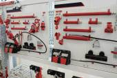 Working place at repair garage — Stock Photo