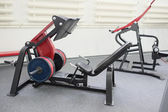 Gym with equipment — Stock Photo