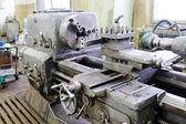Industrial  lathe machine — Zdjęcie stockowe