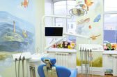 Children's dental clinic — Stock Photo
