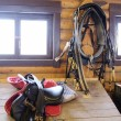 Horse equipment - saddlery — Stock Photo #63938027