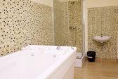 Balneotherapy bath in salon — Stock Photo