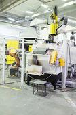Industrial furnace equipment — Stock Photo