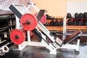 Weight lifting equipments — Stock Photo